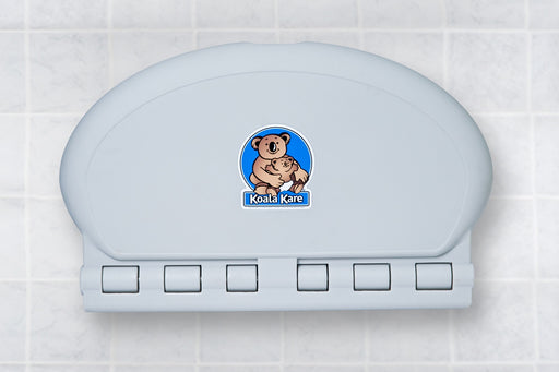 KB208-01, KOALA Grey OVAL Baby Changing Station - Horizontal-Koala-Allied Hand Dryer
