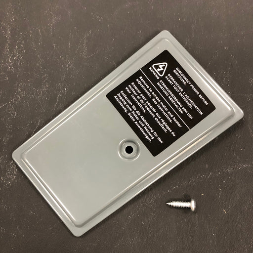 WORLD SMARTdri K4-971 CONTROLS COVER KIT (Part # 20-0815093K)-Hand Dryer Parts-World Dryer-Allied Hand Dryer