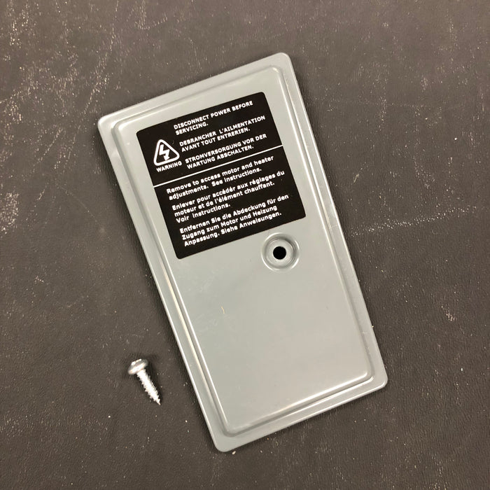 WORLD SMARTdri K-162 CONTROLS COVER KIT (Part # 20-0815093K)-Hand Dryer Parts-World Dryer-Allied Hand Dryer