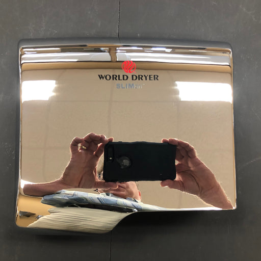 WORLD SLIMdri L-970 COVER ASSEMBLY COMPLETE (Part# 20-L970)-Hand Dryer Parts-World Dryer-Allied Hand Dryer