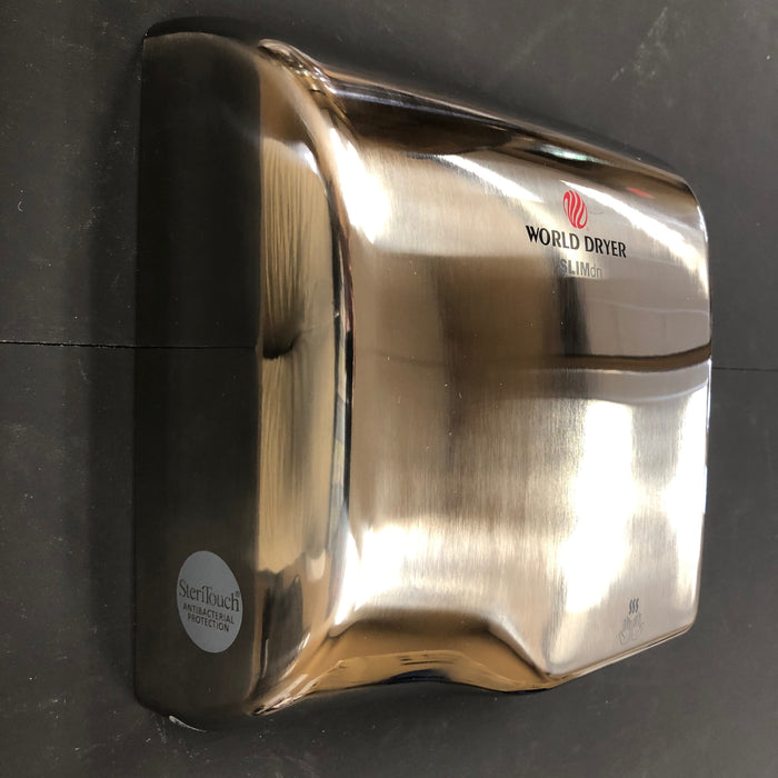 WORLD SLIMdri L-972 COVER ASSEMBLY COMPLETE (Part# 20-L972)-World Dryer-Allied Hand Dryer