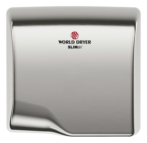 WORLD SLIMdri L-973 COVER ASSEMBLY COMPLETE (Part# 20-L973)-Hand Dryer Parts-World Dryer-Allied Hand Dryer