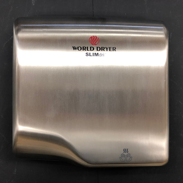 WORLD SLIMdri L-973 COVER ASSEMBLY COMPLETE (Part# 20-L973)-World Dryer-Allied Hand Dryer