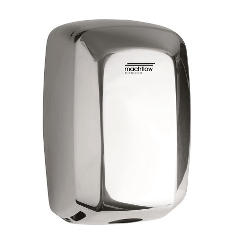 Saniflow M09AC MACHFLOW Hand Dryer - Stainless Steel with Bright (Polished) Finish High-Speed Universal Voltage-Saniflow-Allied Hand Dryer