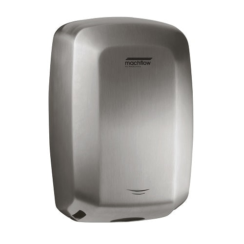 Saniflow M09ACS MACHFLOW Hand Dryer - Stainless Steel with Satin (Brushed) Finish High-Speed Universal Voltage-Saniflow-Allied Hand Dryer