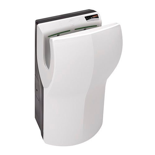 Saniflow® M14A DUALFLOW® PLUS Hand Dryer - White High-Speed HEPA Universal Voltage ADA-Our Hand Dryer Manufacturers-Saniflow-Allied Hand Dryer