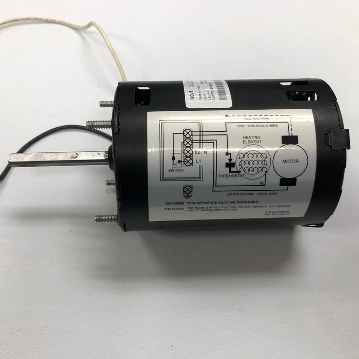 ASI TRADITIONAL Series Push-Button Model (110V/120V) MOTOR (Part# 005240) - Allied Hand Dryer