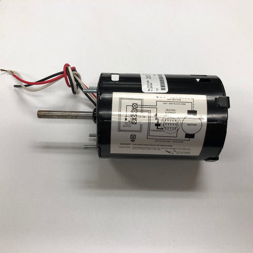 ASI 0113 TRADITIONAL Series Push-Button Model (208V-240V) MOTOR (Part# 005240)-Hand Dryer Parts-ASI (American Specialties, Inc.)-Allied Hand Dryer