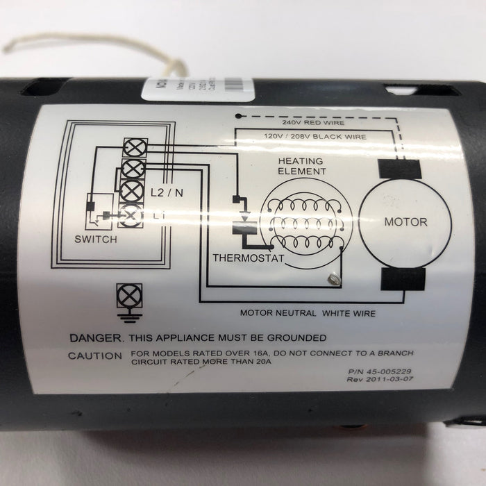 ASI AUTOMATIK (110V/120V) TRADITIONAL Series NO TOUCH Model MOTOR (Part# 005240)