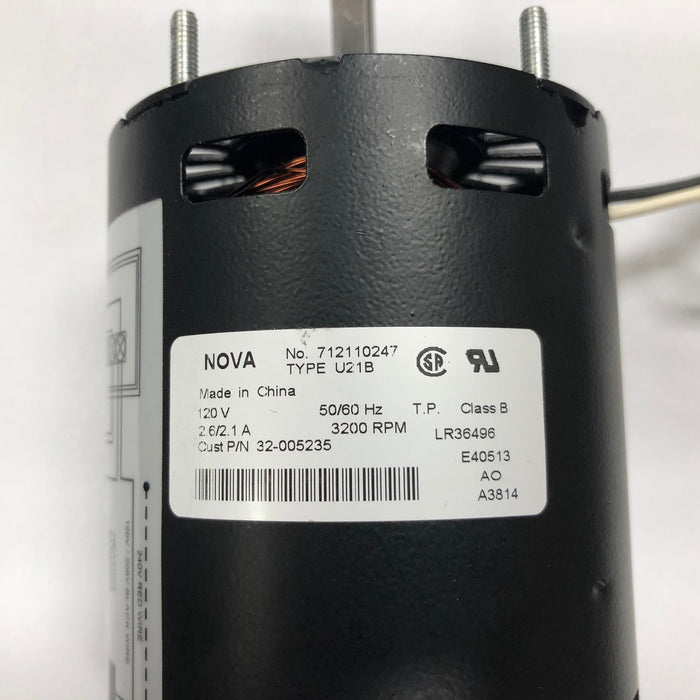 NOVA 0412 / NOVA 4 (110V/120V) Automatic Cast Iron Model MOTOR (Part# 32-055235K)-Hand Dryer Parts-World Dryer-Allied Hand Dryer