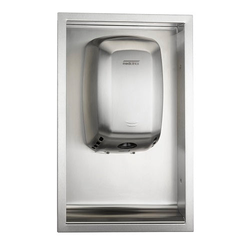 Saniflow KT0009CS Recessed Kit for the MACHFLOW M09 Hand Dryer Series (HAND DRYER NOT INCLUDED)-Saniflow-Allied Hand Dryer