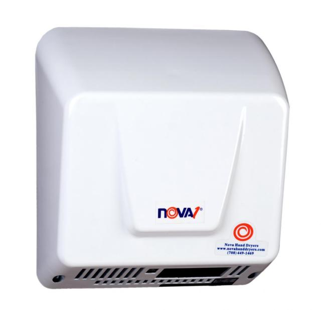 NOVA 0830 / NOVA 1 (110V-240V) Automatic, ADA-Compliant Model MOTOR (Single Shaft Type) Part# 32-056450K-World Dryer-Allied Hand Dryer