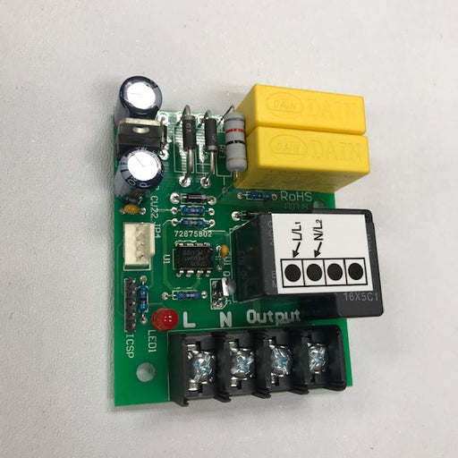 NOVA 0711 / Recessed NOVA 4 (110V/120V) Automatic Cast Iron Model IR CIRCUIT BOARD (Part# 55-005656K)