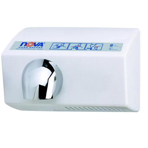 <strong>CLICK HERE FOR PARTS</strong> for the NOVA 0222 / NOVA 5 (208V-240V) Sensor-Activated Model HAND DRYER
