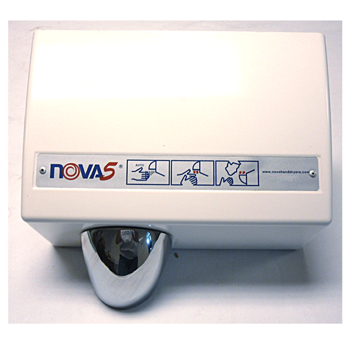 <strong>CLICK HERE FOR PARTS</strong> for the NOVA 0220 / NOVA 5 (208V-240V) Sensor-Activated Model HAND DRYER