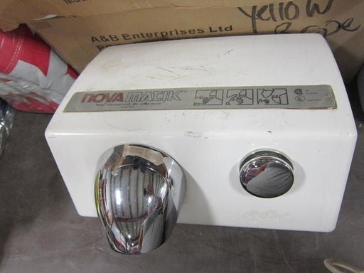 <strong>CLICK HERE FOR PARTS</strong> for the NOVA 0111 / NOVA 5 Push-Button Model (110V/120V) HAND DRYER-World Dryer-Allied Hand Dryer