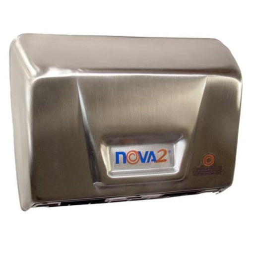 NOVA 2 (093079), World Dryer Stainless Steel Automatic-Our Hand Dryer Manufacturers-World Dryer-Universal Voltage- Hard Wired (120V-240V)-Allied Hand Dryer