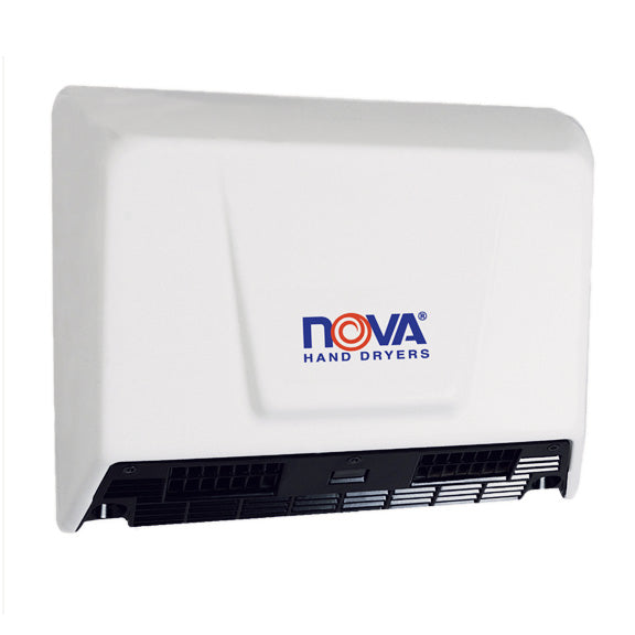 NOVA 0930 / NOVA 2 (110V-240V) Automatic, Dual-Blower Model MOTOR (Dual Shaft) Part# 32-006738K-World Dryer-Allied Hand Dryer
