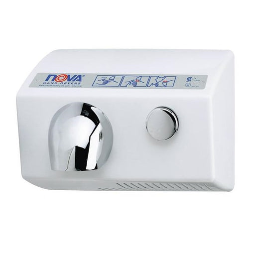 <strong>CLICK HERE FOR PARTS</strong> for the NOVA 0112 / NOVA 5 Push-Button Model (110V/120V) HAND DRYER