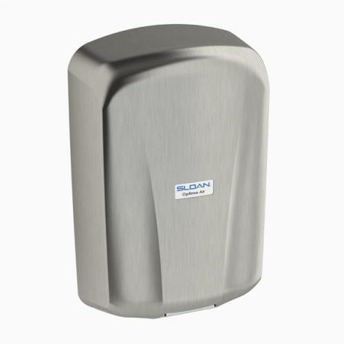 "EHD-701-BN, Sloan Optima Air ""Brushed Nickel"" Surface Mounted ADA-Complaint Hand Dryer-Our Hand Dryer Manufacturers-Sloan-EHD-701-BN - 110-120 Volt-Allied Hand Dryer"