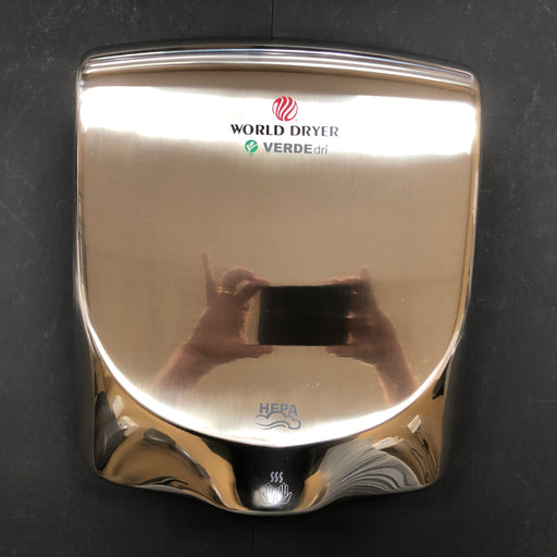 WORLD VERDEdri Q-972 COVER ASSEMBLY COMPLETE (Part # 20-Q972)-Hand Dryer Parts-World Dryer-Allied Hand Dryer