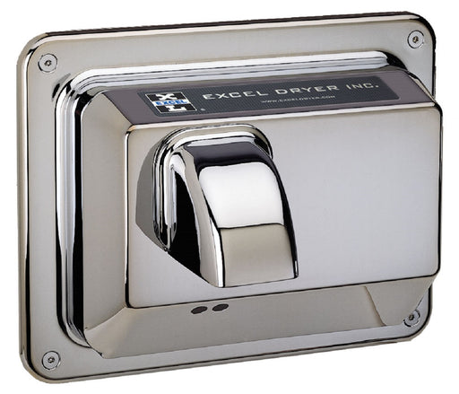 R76-IC, Excel Dryer Hands-Off Recessed Chrome Hand Dryer