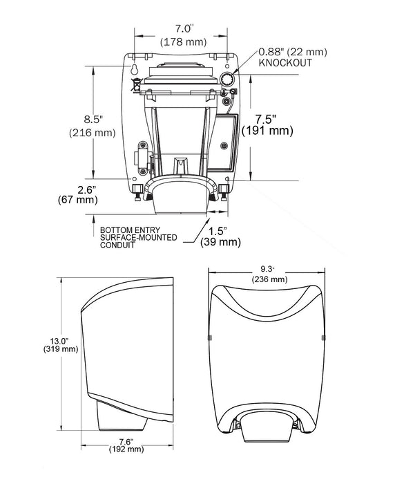 WORLD SMARTdri K4-974 COVER ASSEMBLY COMPLETE (Part # 20-K974)