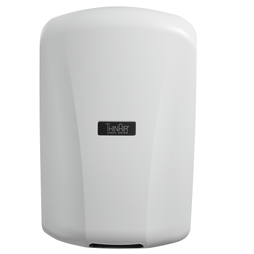 TA-ABS, Thin Air Xlerator Excel Dryer White Surface Mounted ADA-Complaint-Our Hand Dryer Manufacturers-Excel-110-120 Volt-Allied Hand Dryer