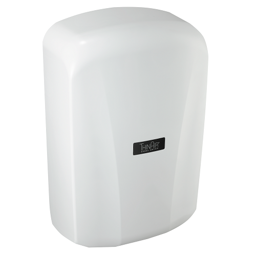 TA-ABS, Thin Air Xlerator Excel Dryer White Surface Mounted ADA-Complaint-Excel-Allied Hand Dryer