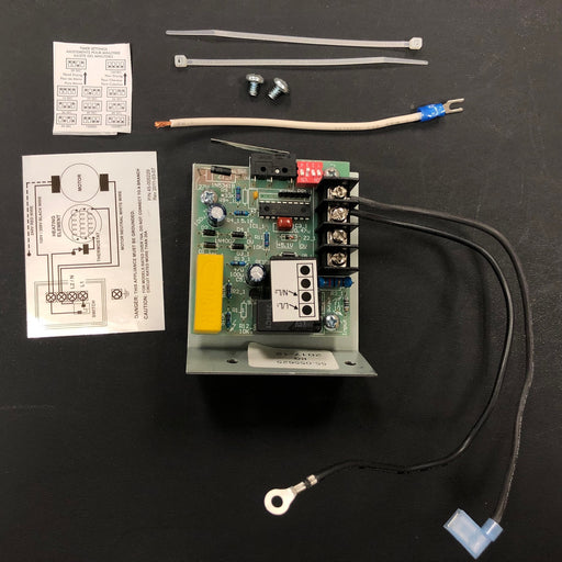 ASI 0113 TRADITIONAL Series Push-Button Model (208V-240V) CIRCUIT BOARD/MICRO SWITCH TIMER ASSY (Part# 055625)-Hand Dryer Parts-ASI (American Specialties, Inc.)-Allied Hand Dryer