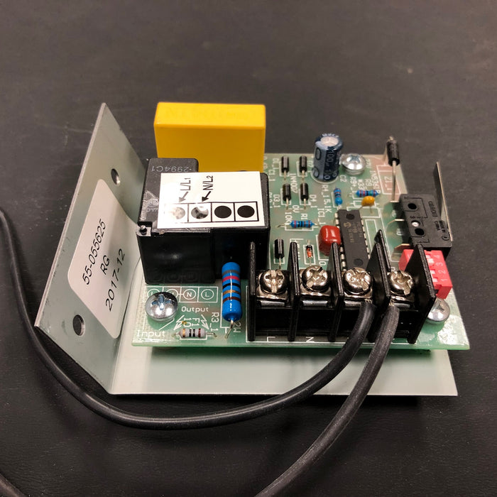 ASI TRADITIONAL Series Push-Button Model (208V-240V) CIRCUIT BOARD/MICRO SWITCH TIMER ASSY (Part# 055625)-ASI (American Specialties, Inc.)-Allied Hand Dryer