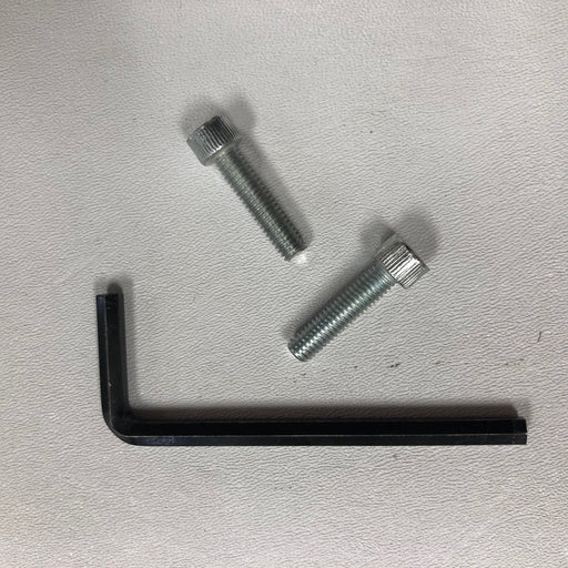 WORLD VERDEdri Q-973 COVER BOLTS (Set of 2) with SECURITY ALLEN WRENCH COMBO (Part # 46-040221K)-Hand Dryer Parts-World Dryer-Allied Hand Dryer