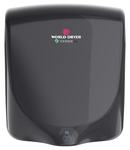 <strong>CLICK HERE FOR PARTS</strong> for the Q-162 VERDEdri World Dryer Automatic Black Epoxy on Aluminum