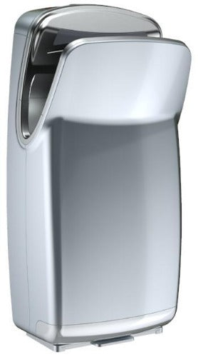VMax V-639A Silver Hand Dryer Left View