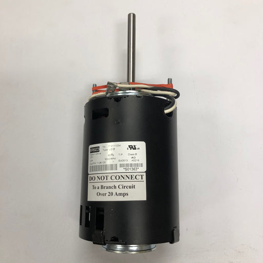 WORLD WA126-001 AirSpeed (110V/120V) REPLACEMENT MOTOR (Part# 1128-120K)-World Dryer-Allied Hand Dryer