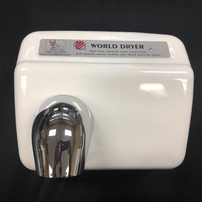WORLD XA54-974 (208-240V) COVER ASSEMBLY COMPLETE (Part# 70XA5-974AK) - Allied Hand Dryer