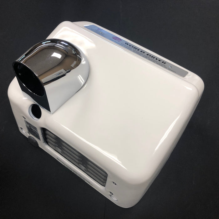 WORLD XA54-974 (208-240V) COVER ASSEMBLY COMPLETE (Part# 70XA5-974AK)-Hand Dryer Parts-World Dryer-Allied Hand Dryer