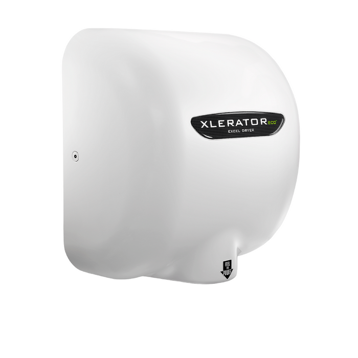 XL-BW-ECO, XLERATOReco Excel Dryer (No Heat), White BMC (Reinforced Polymer)