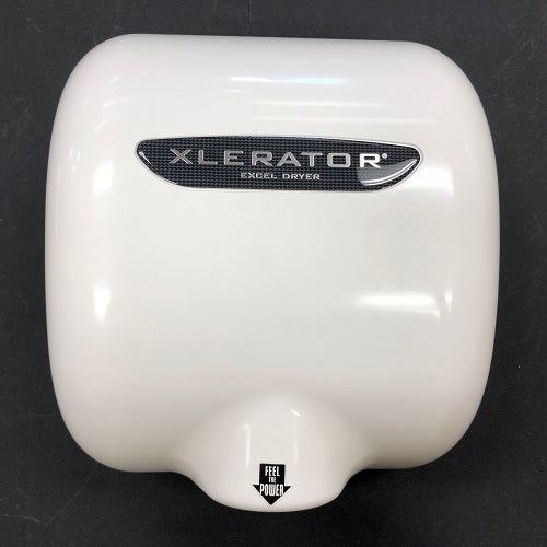 Excel XL-BW XLerator REPLACEMENT COVER - WHITE THERMOSET / BMC (Part Ref. XL 1 / Stock# 1067)-Excel-Allied Hand Dryer