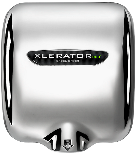 <strong>CLICK HERE FOR PARTS</strong> for the High-Voltage XL-CV-ECO XLERATOReco Excel Dryer Automatic Chrome on Zinc Alloy (208V-277V)-Excel-Allied Hand Dryer