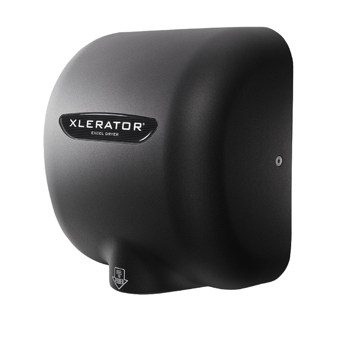XL-GRH, XLERATOR with HEPA FILTER Excel Dryer Textured Graphite Epoxy on Zinc Alloy-Excel-Allied Hand Dryer