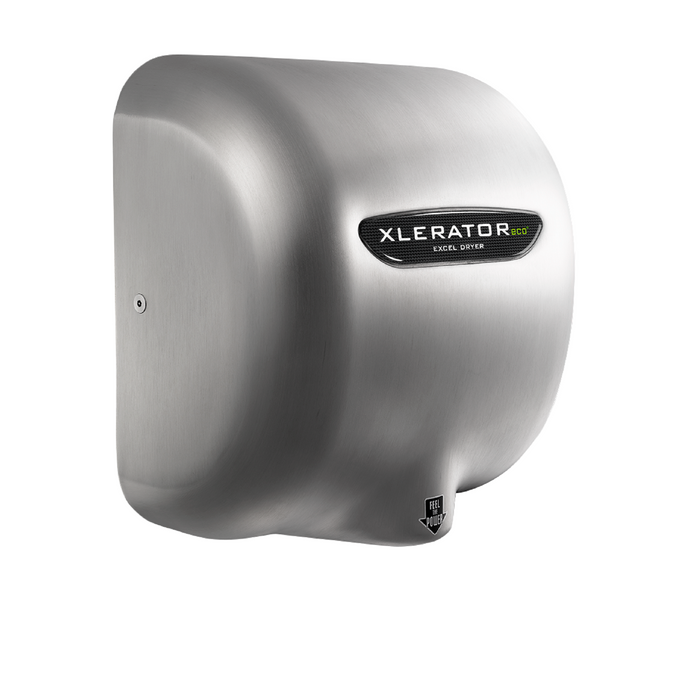 XL-SBH-ECO, XLERATOReco with HEPA FILTER Excel Dryer (No Heat) Brushed Stainless Steel-Excel-Allied Hand Dryer