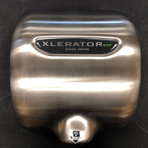 Excel XL-SBV-ECO XLERATOReco REPLACEMENT COVER - BRUSHED STAINLESS STEEL (Part Ref. XL 1 / Stock# 1068)-Hand Dryer Parts-Excel-Allied Hand Dryer