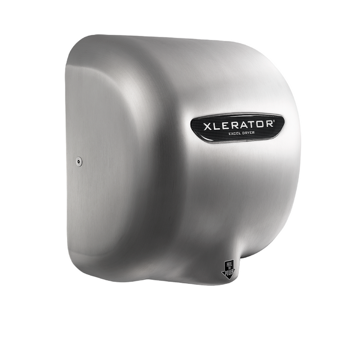 XL-SBH, XLERATOR with HEPA FILTER Excel Dryer Brushed Stainless Steel-Excel-Allied Hand Dryer