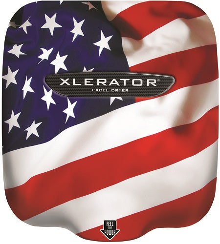 XL-SI, XLERATOR Hand Dryer by Excel Dryer - Custom Image Covers on Zinc Alloy - Personalize It!-Excel-Allied Hand Dryer