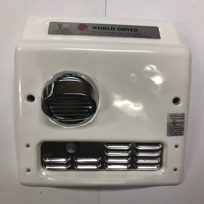 WORLD XRA5-Q974 (115V - 20 Amp) COVER ASSEMBLY COMPLETE (Part# 713XA5)