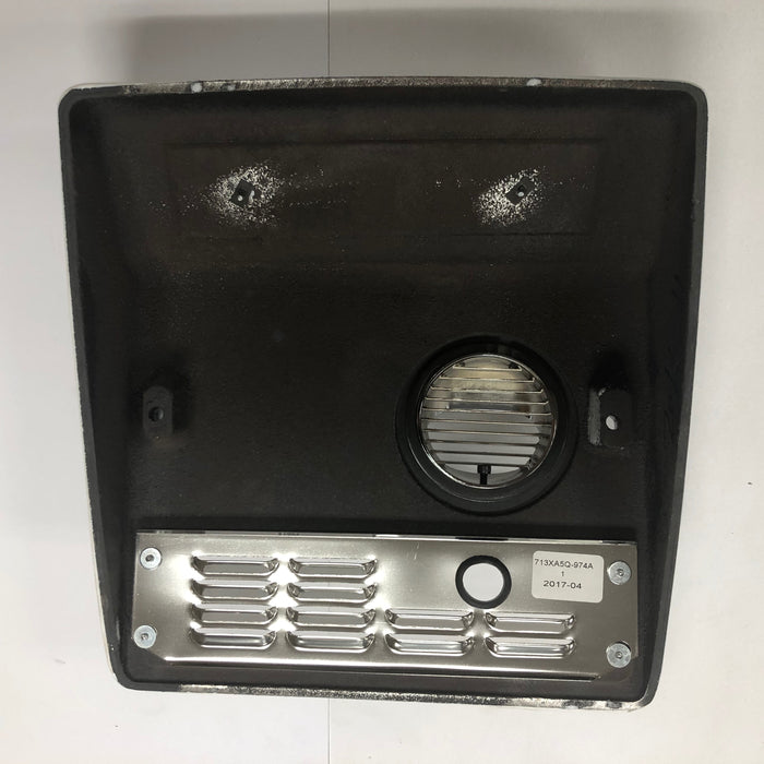 WORLD XRA52-Q974 (115V - 15 Amp) COVER ASSEMBLY COMPLETE (Part# 713XA5)-Hand Dryer Parts-World Dryer-Allied Hand Dryer