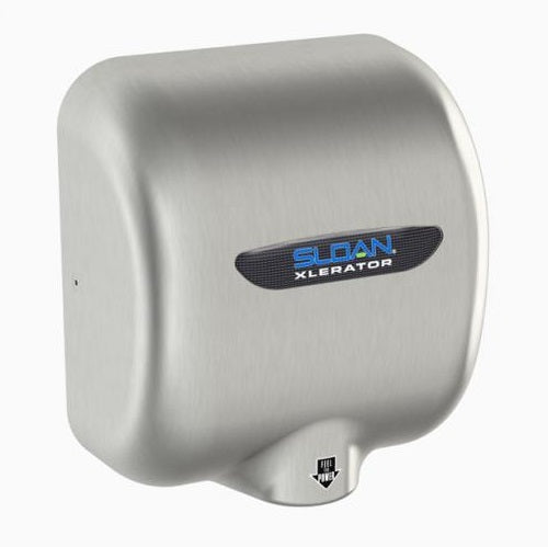 Sloan EHD-501-BN Hand Dryer in Brushed Nickel-Our Hand Dryer Manufacturers-Sloan-110-120 Volt-Allied Hand Dryer
