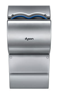 Dyson Airblade AB14 dB Series Hand Dryer in Steel-Gray-Our Hand Dryer Manufacturers-Dyson-Low Voltage (110V/120V), #301853-01-Allied Hand Dryer