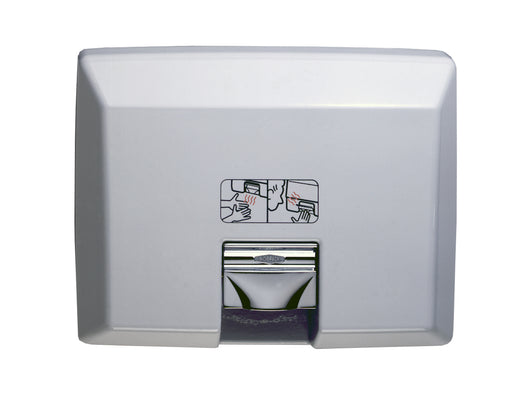 Bobrick AirCraft B-750 Recessed Automatic Hand Dryer-Our Hand Dryer Manufacturers-Bobrick-120v-Allied Hand Dryer